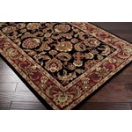 "Surya Ancient Treasures Jet Black (A-108) Square 1'6"" x 1'6"""
