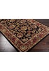 Surya Ancient Treasures Jet Black (A-108) Rectangle 2'0