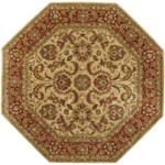 "Surya Ancient Treasures Biscotti (A-111) Octagon 8'0"" x 8'0"""