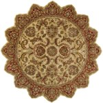 "Surya Ancient Treasures Biscotti (A-111) Star 8'0"" x 8'0"""