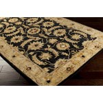 "Surya Ancient Treasures Caviar (A-171) Square 1'6"" x 1'6"""