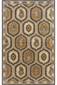 Surya Ancient Treasures Stone (A-173) Rectangle 5'0