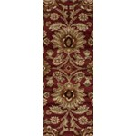 "Surya Alfredo Maroon (AFR-3315) Rectangle 2'7"" x 7'3"""