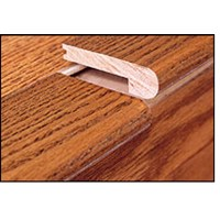 "Mohawk Aria: Stair Nose Natural Hickory - 84"" Long"