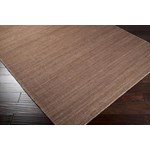 "Surya Bermuda Brown Sugar (BER-1002) Square 0'6"" x 0'6"""
