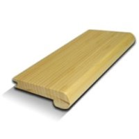 "USFloors Natural Bamboo Expressions Collection: Stair Nose Natural - 72"" Long"