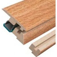 "Quick-Step Eligna: Incizo Trim Santos Mahogany Plank - 83"" Long"