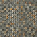 "Emser Lucente Stone and Glass Blends Mosaic 12"" x 12"" : Romano"