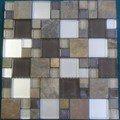 "Glass Tile & Stone Magnificent Modular Series Mosaic 12"" x 12"" : AL1032"