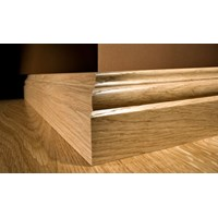 "Kahrs Original American Traditionals Collection:  Wall Base Oak Lexington - 96"" Long"