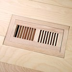 "LW Mountain Pre-Finished Exotic Walnut: Natural Flush Mount 4"" x 12"" Vent"