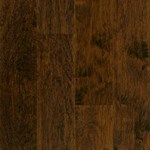 "Armstrong American Scrape: Western Mountain 3/8"" x 5"" Engineered Hickory Hardwood EAS510"