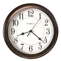 Howard Miller 625-381 Virgo Wall Non-Chiming Wall Clock