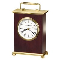 Howard Miller 613-528 Rosewood Bracket Table Top Clock