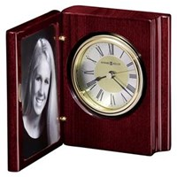 Howard Miller 645-497 Portrait Book Table Top Clock