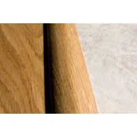"Kahrs Linnea Country Collection:  Overlap Reducer American Cherry Natural - 78"" Long"