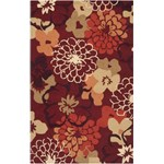 "Surya Brentwood Maroon (BNT-7691) Rectangle 5'0"" x 8'0"""