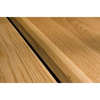 "Kahrs Linnea Country Collection:  T-Mold Hard Maple Natural - 78"" Long"