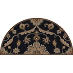 "Surya Caesar Midnight Blue (CAE-1113) Hearth 2'0"" x 4'0"""