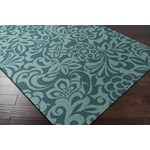 "Surya Candice Olson Modern Classics Teal Blue (CAN-2047) Rectangle 8'0"" x 11'0"""