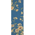 "Surya Paule Marrot Cannes Mediterranean Blue (CNS-5401) Rectangle 2'6"" x 8'0"""