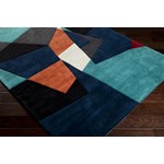 "Surya Cosmopolitan Teal (COS-9125) Rectangle 2'0"" x 3'0"""