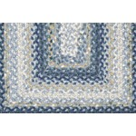 "Surya Country Living Cottage Braids Midnight Blue (CTG-4508) Oval 1'8"" x 2'0"""