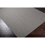 "Surya Elements Charcoal Gray (ELT-1005) Rectangle 3'11"" x 5'7"""