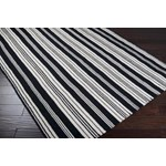 "Surya Country Living Farmhouse Stripes Ivory (FAR-7001) Square 0'6"" x 0'6"""