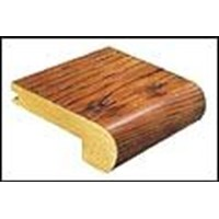 "Mannington Harrington Oak: Stair Nose Sable - 84"" Long"