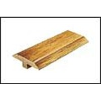 "Mannington Madison Oak Plank: T-mold Rich Oak - 84"" Long"