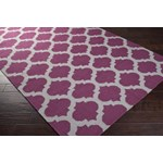 "Surya Frontier Raspberry Wine (FT-115) Square 0'6"" x 0'6"""