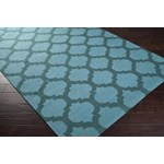 "Surya Frontier Sea Blue (FT-123) Rectangle 2'0"" x 3'0"""