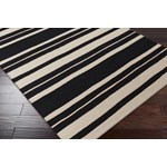 "Surya Frontier Coal Black (FT-439) Rectangle 3'6"" x 5'6"""
