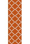 Surya Frontier Burnt Orange (FT-448) Rectangle 2'6