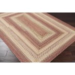 "Surya Jamestown Brick Red (JAM-4300) Rectangle 1'8"" x 2'6"""