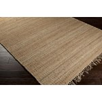 "Surya Jute Natural Wheat (JUTE NATURAL) Square 0'6"" x 0'6"""