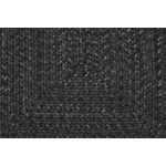 "Surya Liberty Coal Black (LIB-4400) Oval 1'8"" x 2'0"""