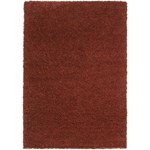 "Surya Luxury Shag Red Clay (LXY-1723) Rectangle 5'3"" x 7'6"""