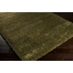 "Surya Luxury Shag Moss (LXY-1724) Rectangle 6'7"" x 9'6"""