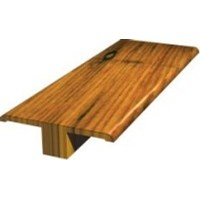 "Shaw Pebble Hill: T-mold Burnt Barnboard Hickory - 78"" Long"