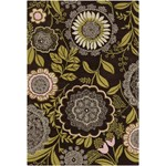 "Chandra Amy Butler (AMY13206-79106) 7'9""x10'6"" Rectangle Area Rug"