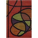 "Chandra Bense (BEN3013-576) 5'0""x7'6"" Rectangle Area Rug"