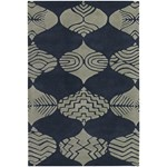 "Chandra Parson Gray (PAR31107-79106) 7'9""x10'6"" Rectangle Area Rug"