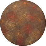 "Chandra Revello (REV15801-79RD) 7'9""x7'9"" Round Area Rug"