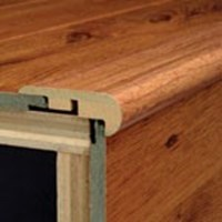 "Armstrong Coastal Living:  Overlap Stepnose Oyster Bay Pine - 94"" Long"