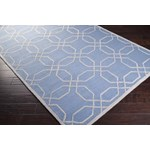 "Surya Mezzo Steel Blue (MZO-6002) Rectangle 8'0"" x 11'0"""