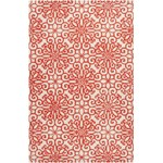 "Surya Oasis Rust Red (OAS-1081) Rectangle 5'0"" x 8'0"""