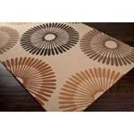 "Surya Rain Frappe (RAI-1087) Rectangle 2'0"" x 3'0"""