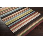 "Surya Rain Wenge (RAI-1091) Rectangle 3'0"" x 5'0"""